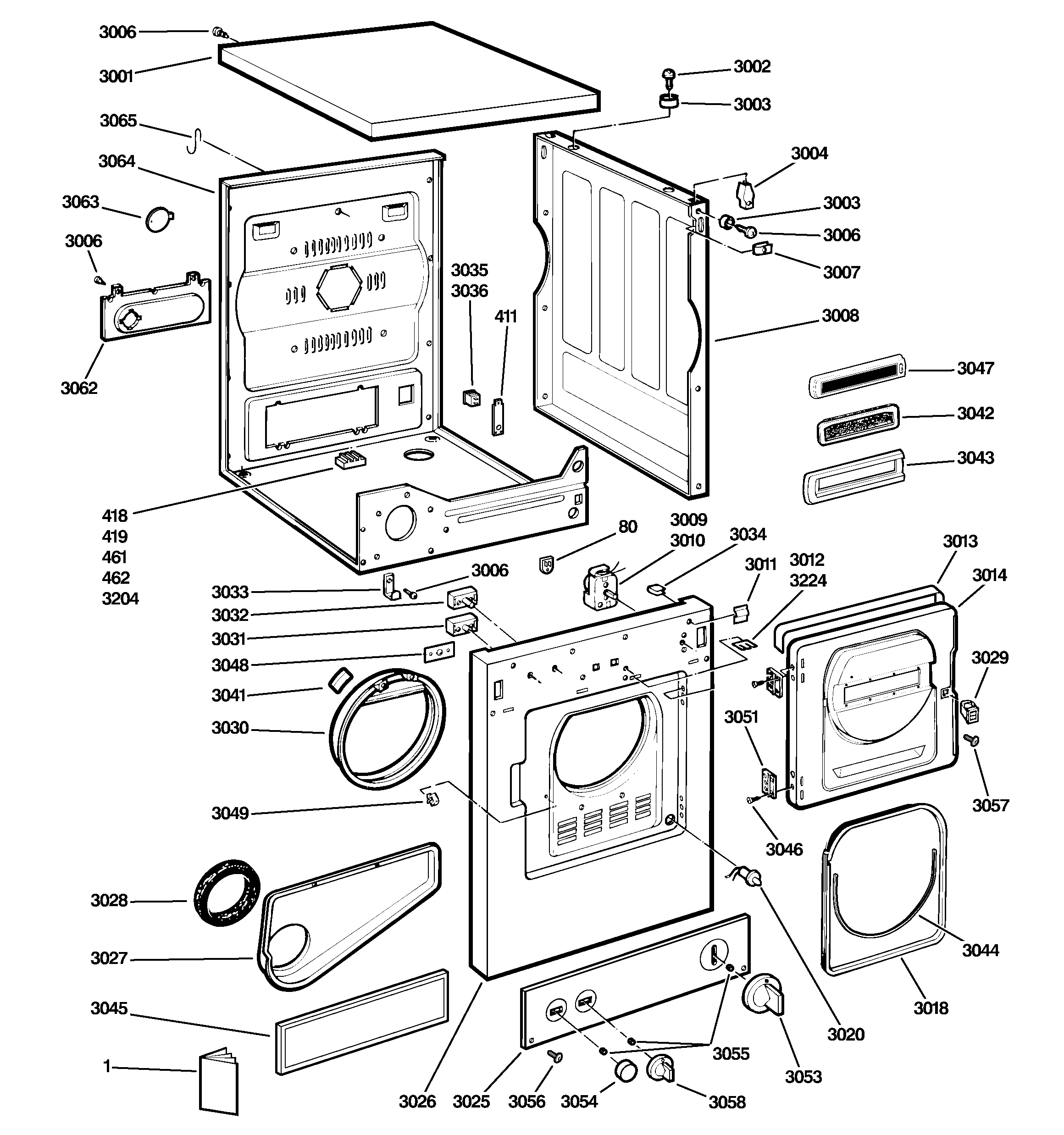 Ge+dishwasher+parts+diagram