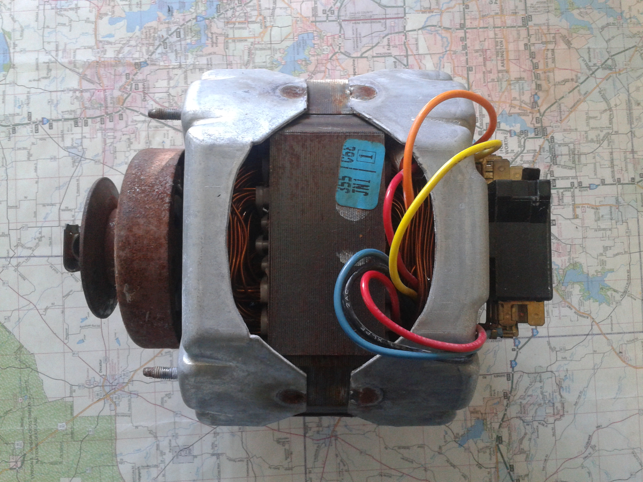 GE washer motor 5KH41JT18AS