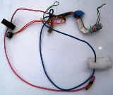 GE GSS25SGPASS Wiring Harness for Defrost Heater and Light Socket
