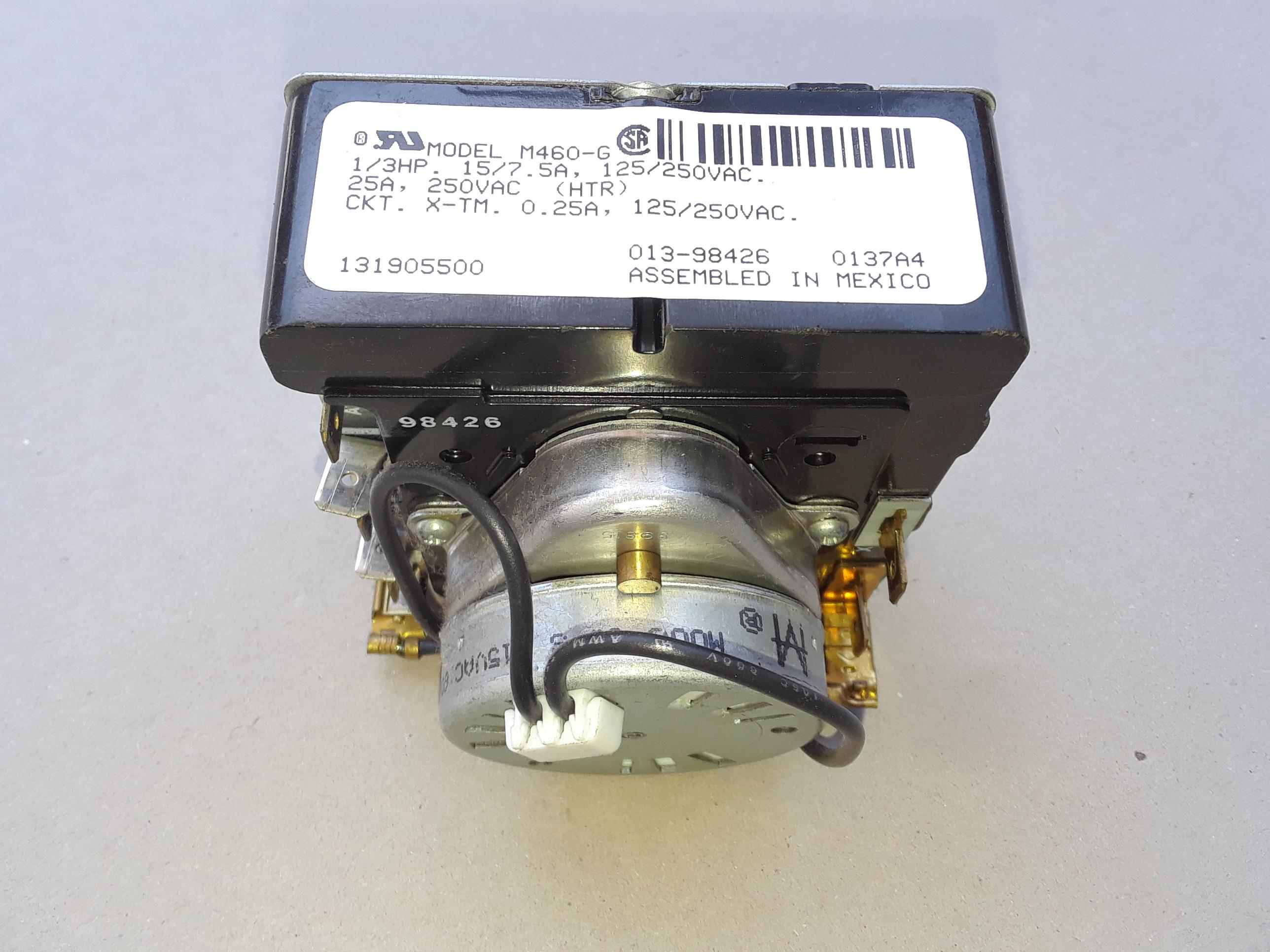131905500 Dryer Timer AP2107842, PS646424