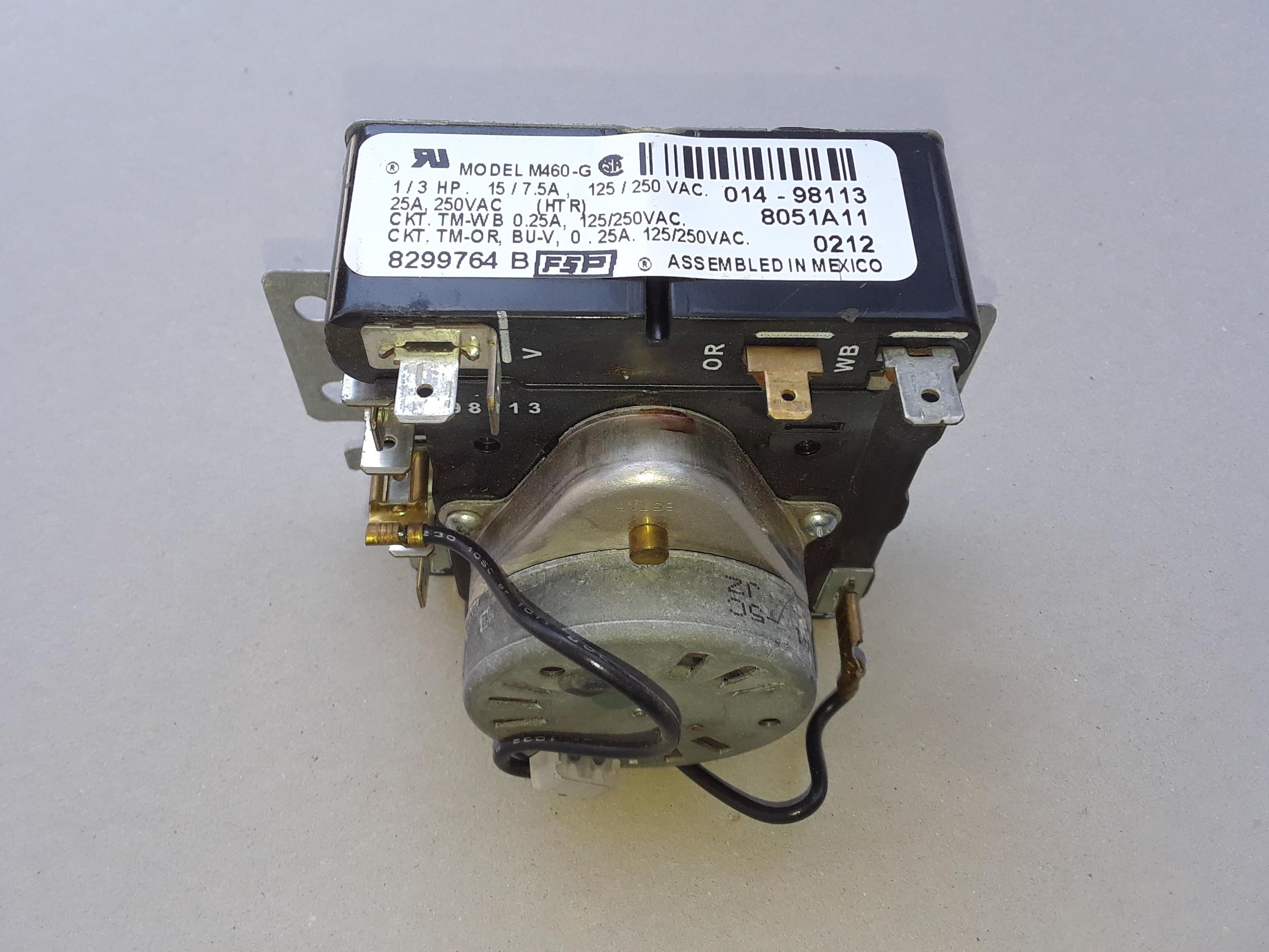 Whirlpool Dryer Timer 8299764