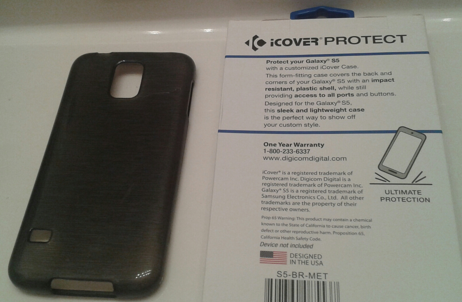 Galaxy S5 Smartphone Protective Cover