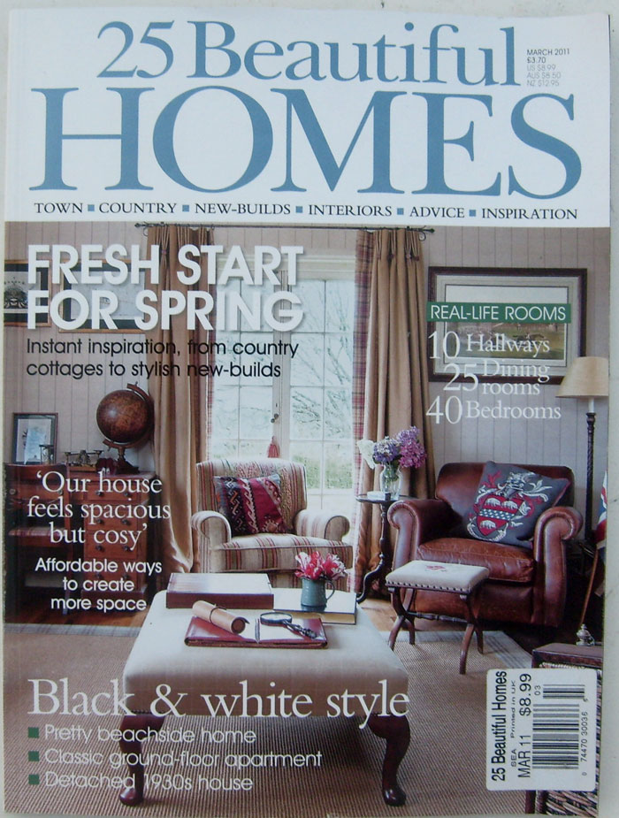 25 Beautiful Homes Kitchens: 25 Beautiful Homes Magazines March 2011 (printed In UK