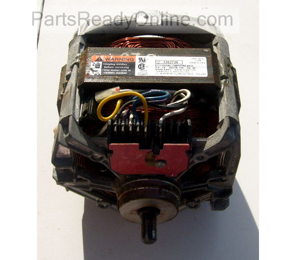 Drive Motor 3363736 with Start Switch 62850 1725 1140 RPM