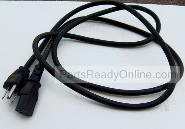 6 Foot Computer Power Cord Electric Cable Longwell 6716000064P20