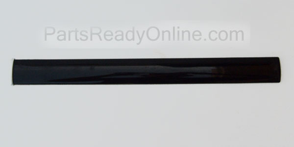 Black Frigidaire Refrigerator Door Handle Lower Trim 218811617 30-in Long