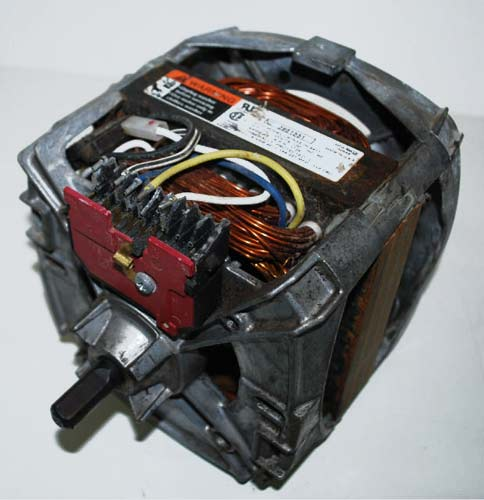 Whirlpool washer motor 3951551 for Motor for whirlpool washer