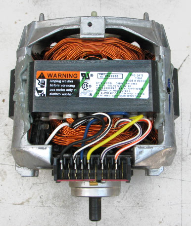 Whirlpool kenmore washer motor 8529935 1 2hp 120 voltz for Motor for whirlpool washer