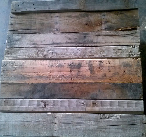 Reclaimed Pallet Lumber 32-inch Wood Slat 2x1/2x32 MIXED