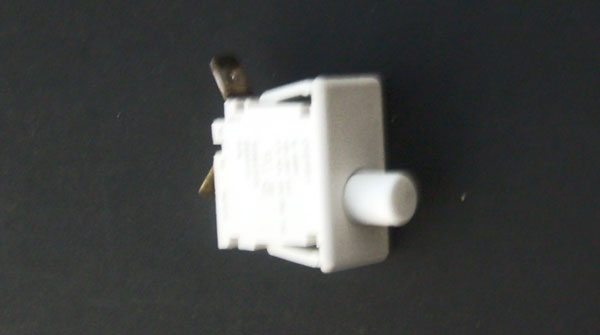 Cherry Push Button Switch 131843100 134813600 Frigidaire Electrolux 10 AMPS 125/250 VAC 1/3 HP