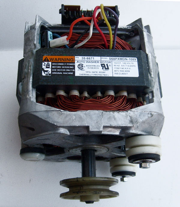 Maytag Admiral Crosley Motor With Pulley 35 6671 2 Speed