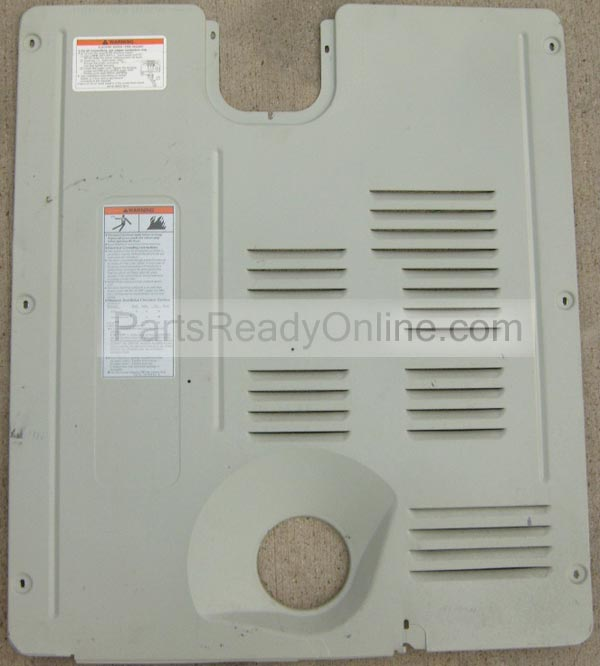 [DVZP_7254]   Dryer Rear Panel Whirlpool, Roper, Kenmore Dryer Back Cover 28